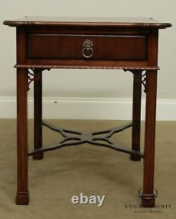 Lexington'The Palmer Home Collection' Mahogany One Drawer Side Table