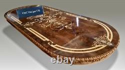 Magnificent CMC Designs Louis XVI style dining table set range, 8ft to 20ft plus