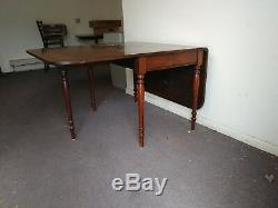 New Sale 18th-19th Century Federal Dropleaf Farm Table Spectacular Condition
