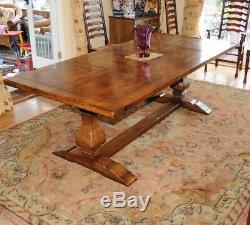 Refectory Table and Ladderback Chair Dining Set