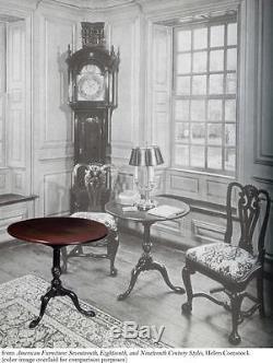 SWC-Tilt-top Table with Birdcage, Newport, c. 1760-80