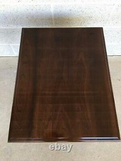Stickley Cherry Valley Queen Anne Style Side Table End Table