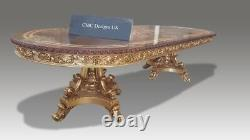 Stunning & magnificent Louis XVI style dining table set range, 8ft to 20ft plus