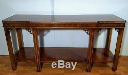 Vintage LANE Console/Sofa/Entry Table Chinoiserie/Chippendale 988 08