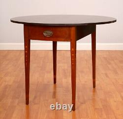 Wallace Nutting Oval Drop Leaf Table