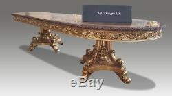 World class magnificent Louis XVI style dining table set range, 8ft to 20ft plus