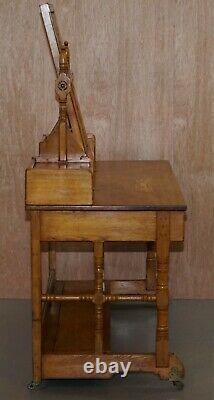 1875 Gillows Documentés De Lancaster Aesthetic Movement Dressing Table Libertys