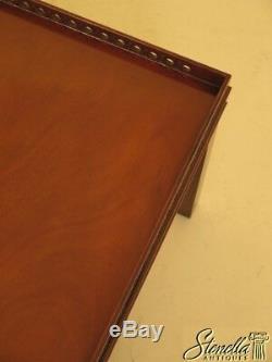 29977ec Wood & Hogan Grande Table Basse Carrée En Acajou