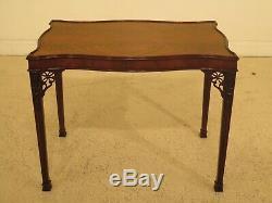 30816ec Baker Table À Thé Chippendale En Acajou, Collection Stately Homes