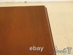40132 Saybolt -cleland Chippendale Acajou Pembroke Table