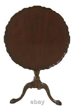 47702ec Baker Tilt Top Ball & Claw Acajou Table