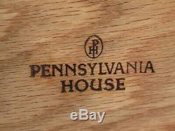 48115ec Paire Pennsylvanie Maison Chippendale Cerise 1 Tables Fin Tiroir