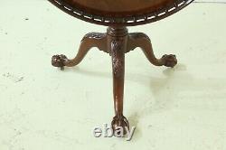 49842ec Baker Stately Homes Ahogany Tilt Top Ball & Claw Table