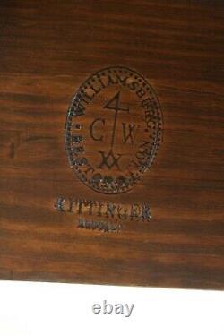 50145ec Kittinger Colonial Williamsburg Cw-134 Tableau Des Feuilles De Chute D'acajou
