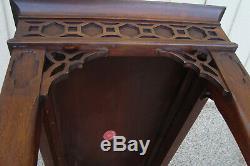 60570 Acajou Massif Wellington Hall Bibliothèque Canapé Table Salle Stand