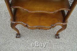 60939 Ronce Bois Bibliothèque Lampe De Table Avec Pied Claw