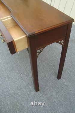62081 Solid Ahogany Console Hall Bibliothèque Canapé Table Stand