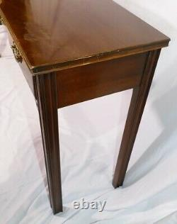 American Masterpiece Collection Acajou Chippendale Style Console Table