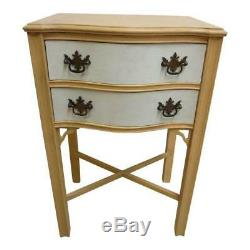 Antique Chippendale Lampe Haute Jambe End Table Shelf Night Stand A