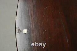 Antique J.b. Van Sciver Mahogany 30 Chippendale Console Flip Top Game Table