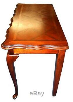 Antique Parqueterie Foyer Acajou Console Table