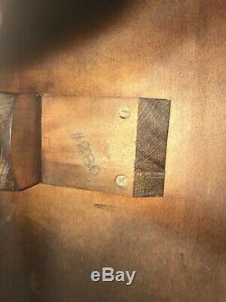 Antique Style Chippendale Mahogany Pâte À Tarte Tableau 3 Pieds Bord Festonné
