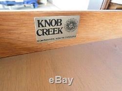 Bouton Creek Style Chippendale Acajou Et Ronce De Noyer End Tables