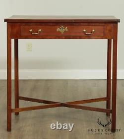 Chippendale Style Antique Cherry Architects Bureau, Table De Dessin