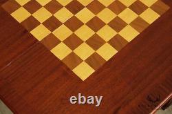 Chippendale Style Mahogany Folding Card Table, Table De Jeu