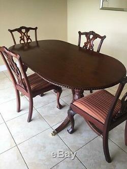 Chippendale Table Et Chaises