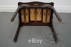 Console Lowboy De Style Chippendale En Acajou Massif De Madison Square