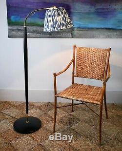 Danois MID 20 C Black & Brass Lecture Plancher Standard Salle Desserte Canapé-lampe
