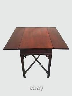 Exceptionnel Townshend Goddard Antique Style Drop Leaf Acajou Pembroke Tables