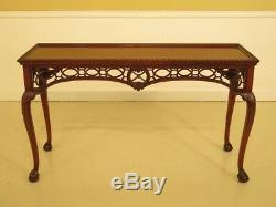 F44416ec Ardley Hall Table De Canapé Chippendale En Acajou Et Pied De Griffes