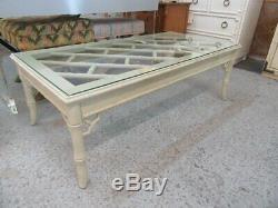 Faux Bambou Chippendale Table Basse