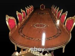 Grande Table À Manger De Style Palace De Classe Mondiale, De 8 Pieds À 20 Pieds Plus