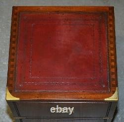 Harrods Londres Reh Kennedy Campagne Militaire Table De Chevet Taille Commode