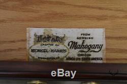 Henkel Harris Mahogany Chippendale Ball Et Claw Un Tiroir Table D'appoint