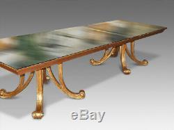 Incroyable Table De Style Art Déco De Christopher Guy De Concepteur 12 Poli Français