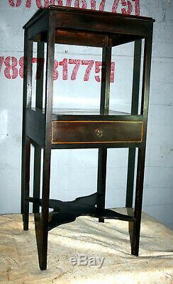Jolie Chambre En Acajou Géorgienne Table De Chevet Table De Chevet 1800