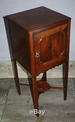Jolie Table De Chevet Chevet 1800 En Acajou Géorgien
