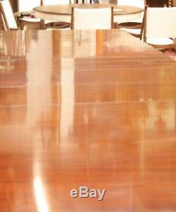 Kindel Furniture Table De Salle À Manger Chippendale Chinoiserie Chinoise En Acajou
