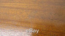 Kittinger Jeu Sofa Table Console Chippendale En Acajou Chippendale
