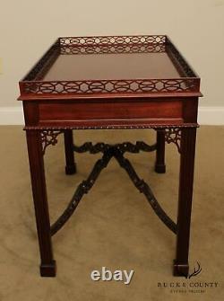 Kittinger Mahogany Chippendale Style Tea Table