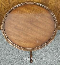 Kittinger Williamsburg Acajou Table Occasional Table Pie Table Wa 1 066