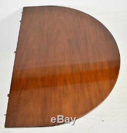 Kittinger Williamsburg Mahogany Triple Pedestal Table Cw 65 Et Cw 66