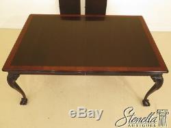 L43549ec Stickley Ball & Claw Acajou Salle À Manger Table