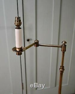 Laiton Élégant Vaughan Éclairage De Lecture Étage Standard Salle Side Table Lamp