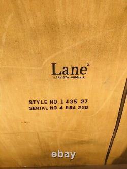 Lane Clawfoot Acajou Table De Café Carré Griffe & Ball Reines Anne Jambes