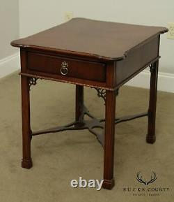 Lexington'the Palmer Home Collection' Ahogany One Tiroir Side Table
